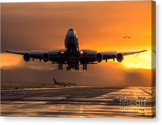 The Active Canvas Print