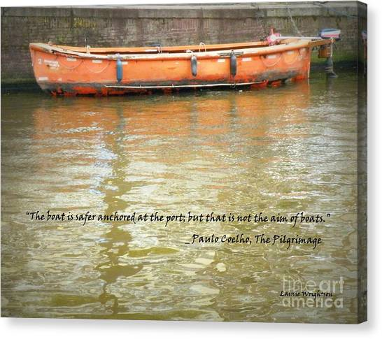 The Aim Of Boats Canvas Print