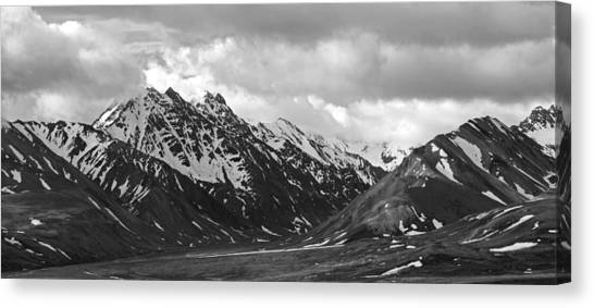 The Alaskan Range Canvas Print