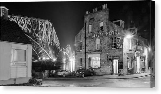 The Albert Hotel Canvas Print