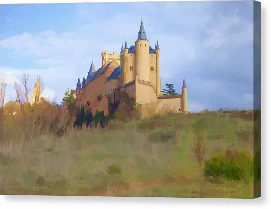 The Alcazer Spain Canvas Print by Indiana Zuckerman