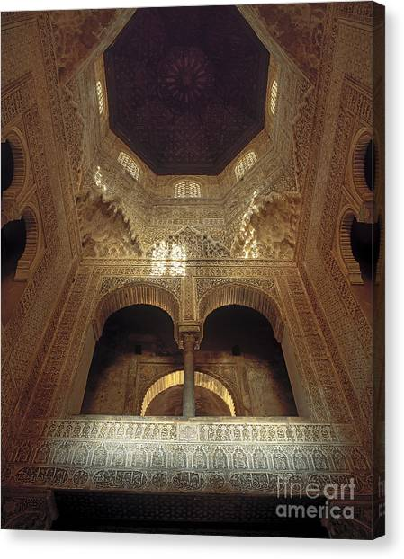 Alhambra Canvas Print - The Alhambra The Infantas Tower by Guido Montanes Castillo