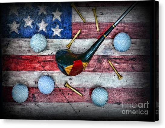 Condors Canvas Print - The All American Golfer by Paul Ward