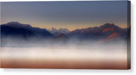 Alps Canvas Print - The Alps by Joana Kruse