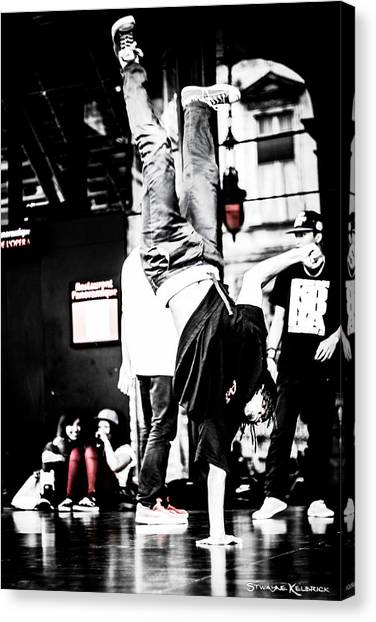 Canvas Print - The Amazin Break Dancer by Stwayne Keubrick