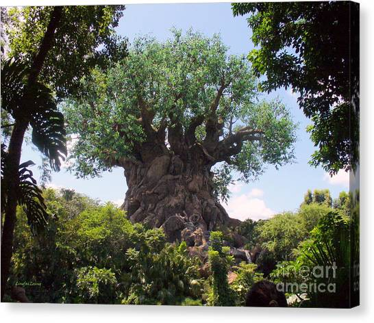 The Amazing Tree Of Life  Canvas Print