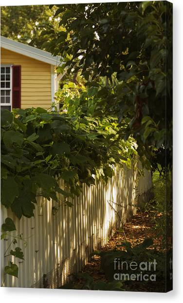 Charming Cottage Canvas Print - The American Dream by Margie Hurwich