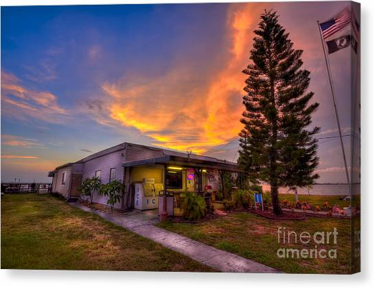 The Legion Canvas Print - The American Legion by Marvin Spates