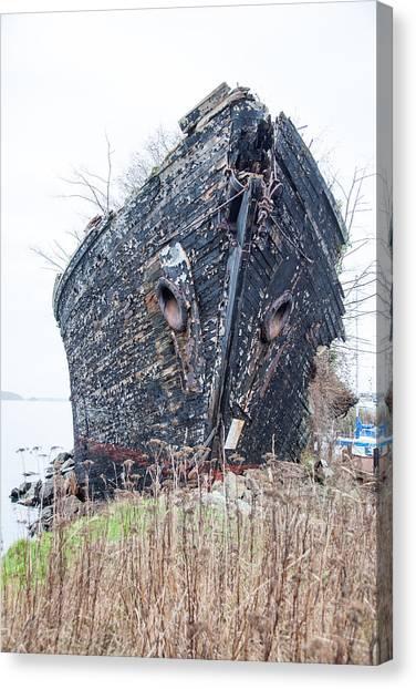 The Ancient Mariner's Ship Canvas Print