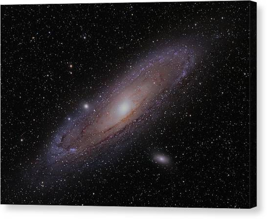 The Andromeda Galaxy Canvas Print by Brian Peterson