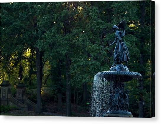 The Angels Of The Waters Canvas Print
