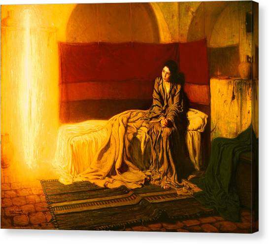 Canvas Print - The Annunciation by Mountain Dreams