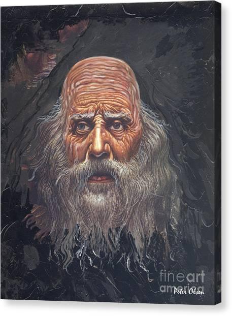 The Apostle John Canvas Print by Peter Olsen