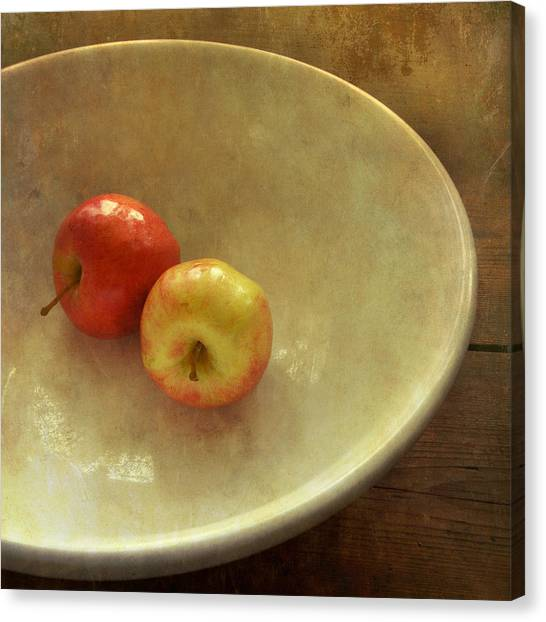 The Apple Bowl Canvas Print