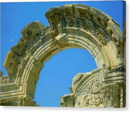 The Arch Of Diana Canvas Print