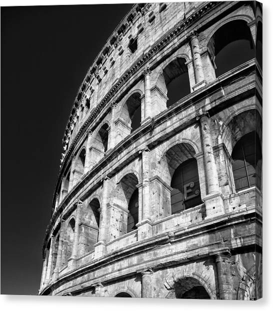 The Arena Canvas Print