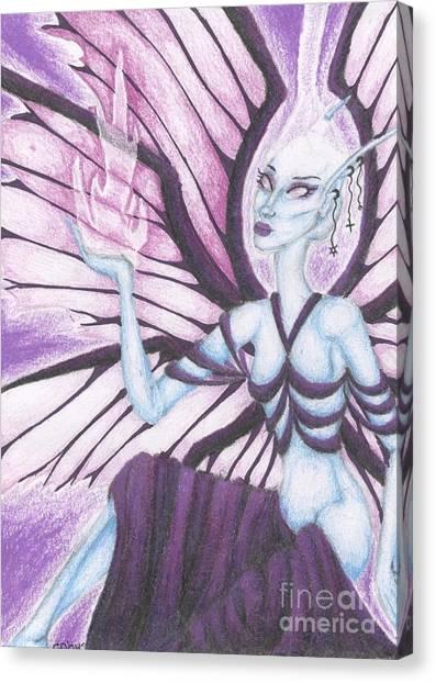 The Ascendant Canvas Print by Coriander  Shea