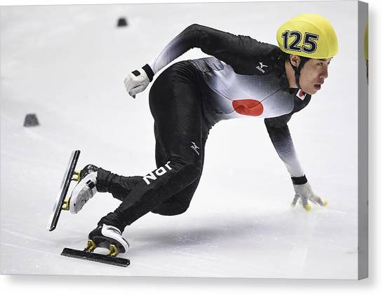 The Asian Winter Games 2017 - Day 4 Canvas Print by Matt Roberts