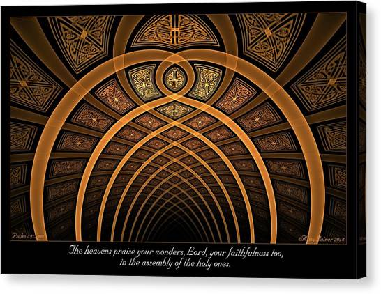The Assembly Canvas Print