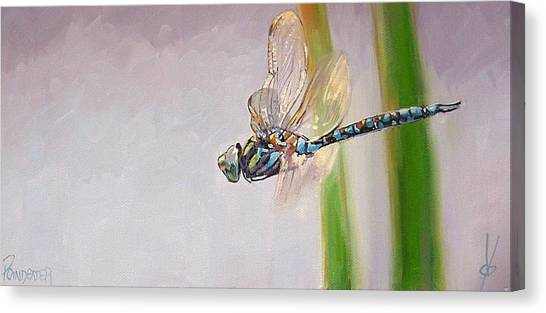 The Awakened One Canvas Print by Dianna Poindexter
