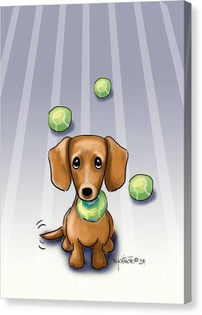 The Ball Catcher Canvas Print