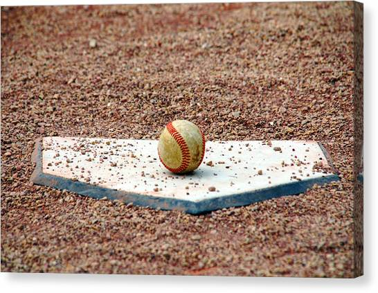 The Ball Of Field Of Dreams Canvas Print