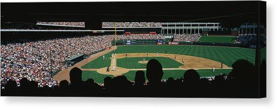 Texas Rangers Canvas Print - The Ballpark In Arlington by Panoramic Images