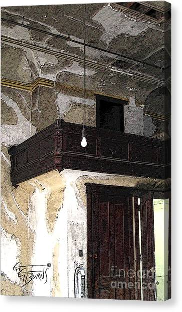Eastern Kentucky University Canvas Print - The Ballroom Balcony At Esh by GG Burns