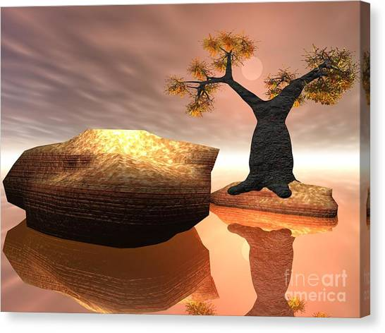 The Baobab Tree Canvas Print