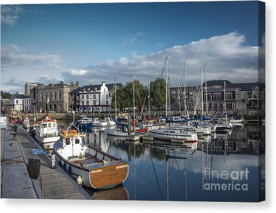 The Barbican Plymouth Devon Canvas Print by Donald Davis
