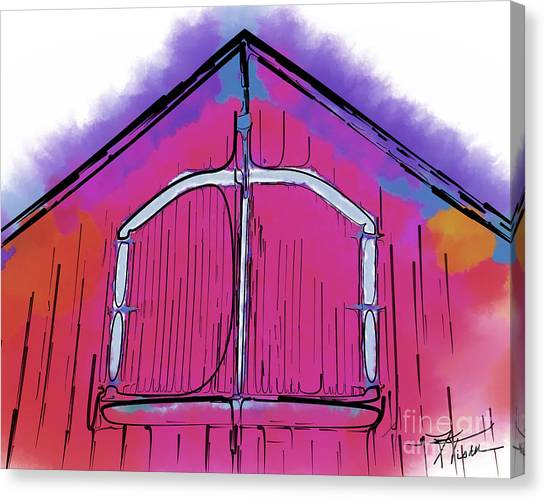The Barn Door Canvas Print
