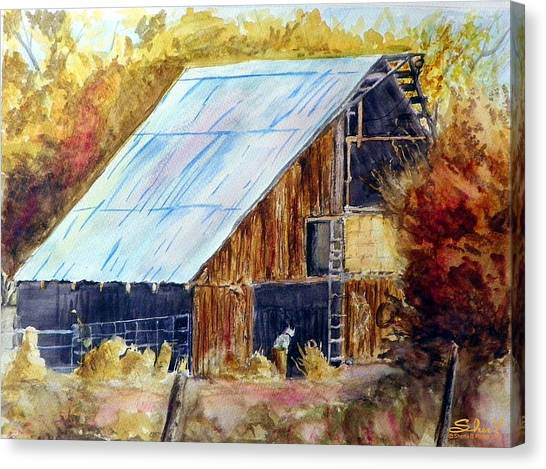 The Barn Mouser Canvas Print