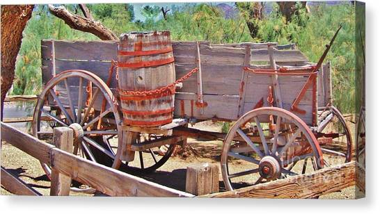 The Barrell Canvas Print