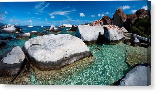The Baths Canvas Print