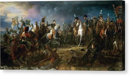 War Horse Canvas Print - The Battle Of Austerlitz by Baron Francois Gerard
