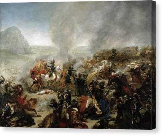 Syrian Canvas Print - The Battle Of Nazareth by Baron Antoine Jean Gros