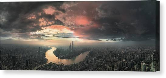 China Canvas Print - The Bay by Stan Huang