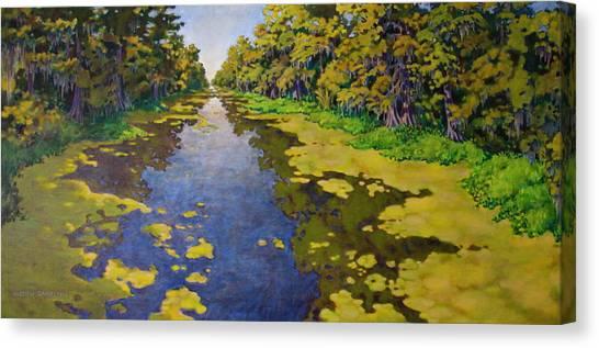 The Bayou Canvas Print