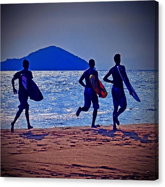 Mars Canvas Print - The Beach Boys by Carlos Alkmin