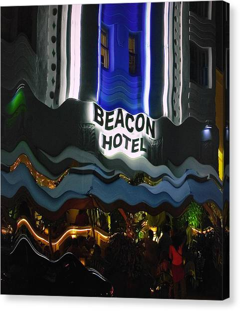 The Beacon Hotel Canvas Print