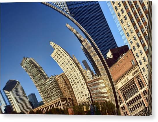 Cloudgate Canvas Print - The Bean - 1 - Cloud Gate - Chicago by Nikolyn McDonald