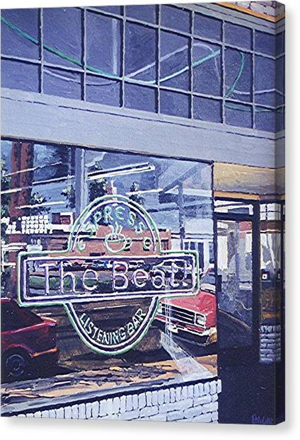 The Beat In Midtown Canvas Print by Paul Guyer