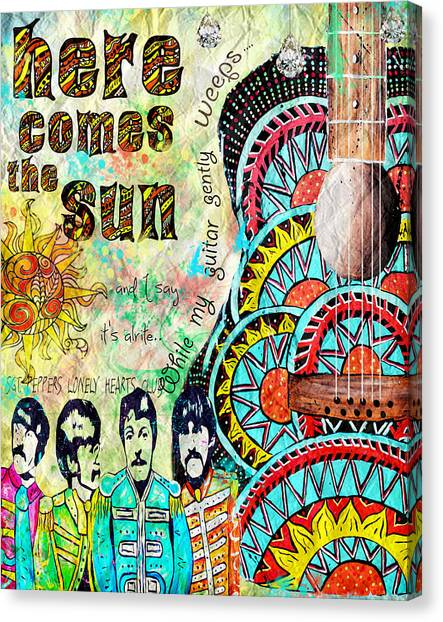 The Beatles Here Comes The Sun Painting By Tara Richelle
