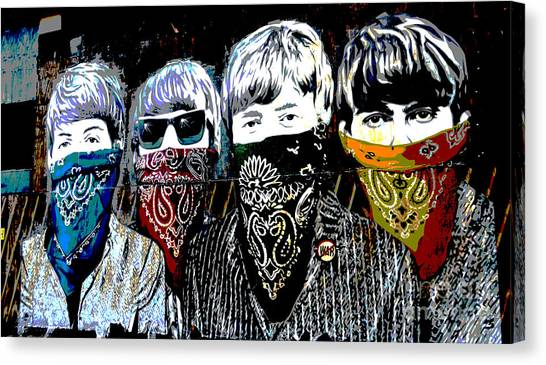 The Beatles Canvas Print