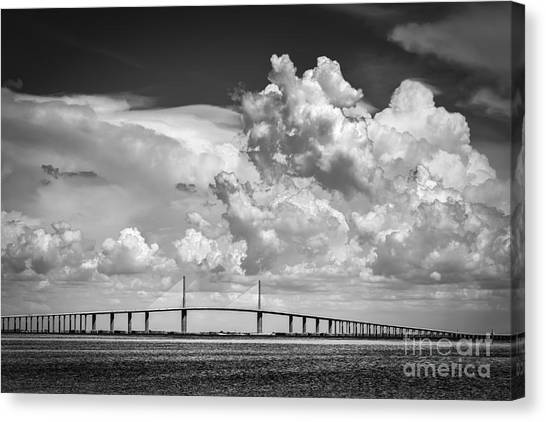 Thunder Bay Canvas Print - The Beautiful Skyway by Marvin Spates