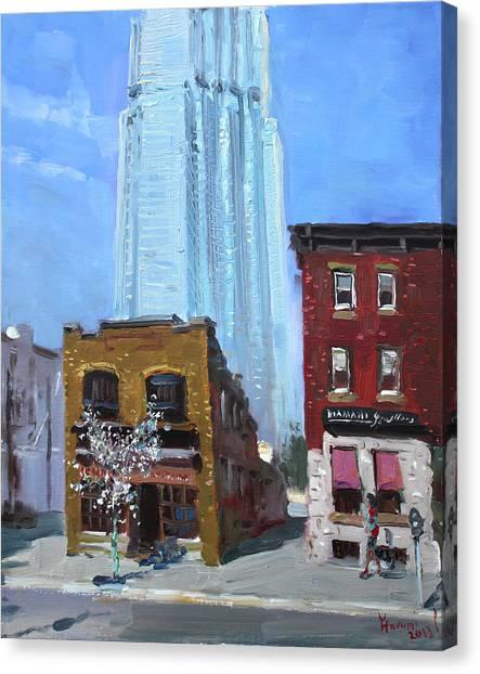 Canadian Canvas Print - The Beauty N' The Background In London Canada by Ylli Haruni