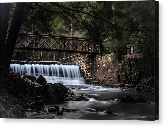 The Beauty Of Clear Creek Canvas Print