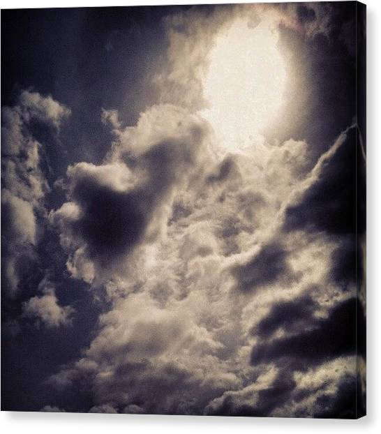 Sunny Canvas Print - The Beauty Of Lies All Around Us.  by Clay Pritchard