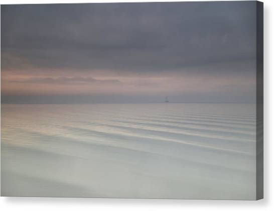 Shore Canvas Print - The Beauty Of The Wadden Sea by Anna Zuidema