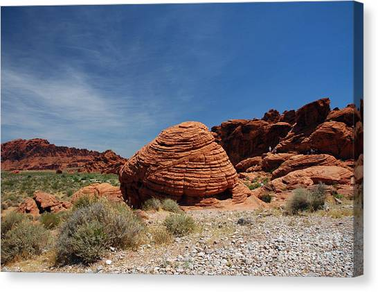 515p The Beehive In Valley Of Fire Canvas Print